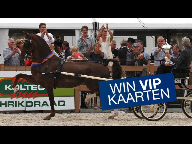 Win VIP kaarten voor de Nationale tuigpaardendag op 12 augustus