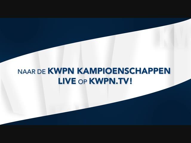 Kijk de KWPN Kampioenschappen live op KWPN.tv